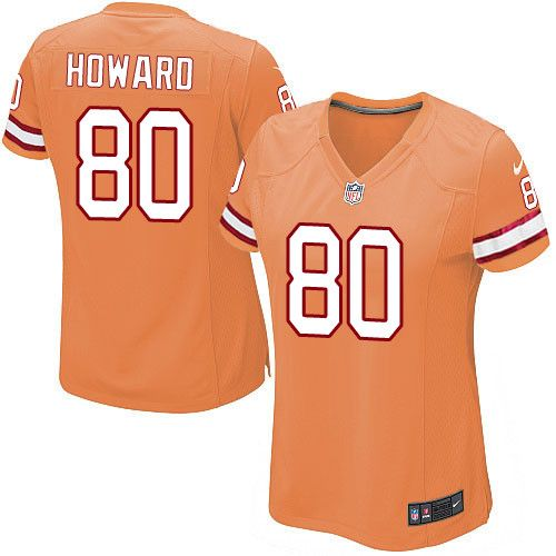 Women s Nike Tampa Bay Buccaneers  80 O. J. Howard Limited Orange Glaze  Alternate NFL Jersey 63786845d