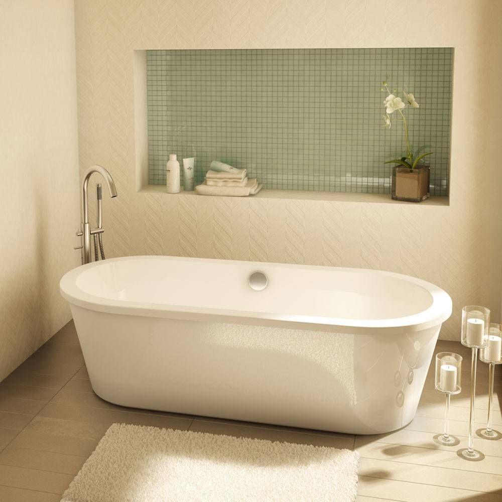 Aria Tranquility II 60 Inch Acrylic Freestanding Bathtub | Mountain ...