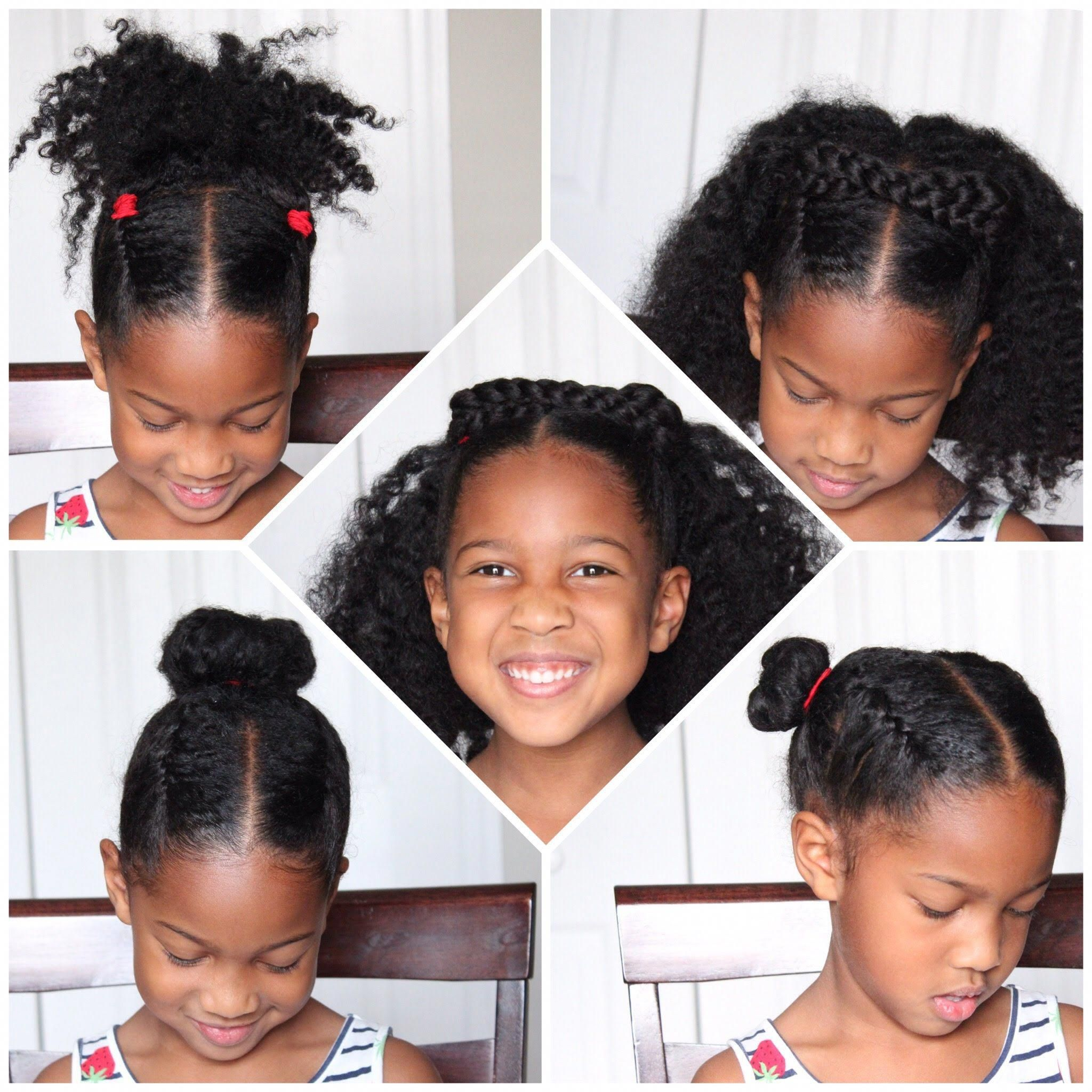Natural Hairstyles For Short 4c Hair Naturalhairstyles Natural Hairstyles For Kids Natural Hair Styles Kids Hairstyles