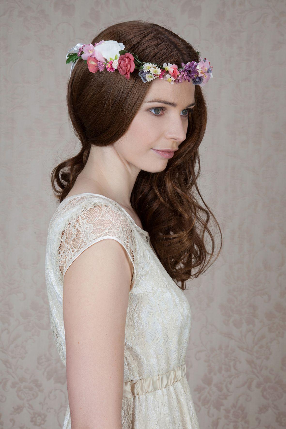Labude bltenkranz flower crown braut haarschmuck vintage style labude bltenkranz flower crown braut haarschmuck vintage style izmirmasajfo