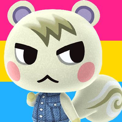 1pcs Animal Crossing FANART Porte-Cl/é