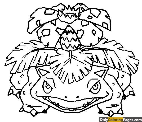 Pokemon Coloring Pages Venusaur Pokemon Coloring Pages Pokemon Coloring Pokemon Drawings