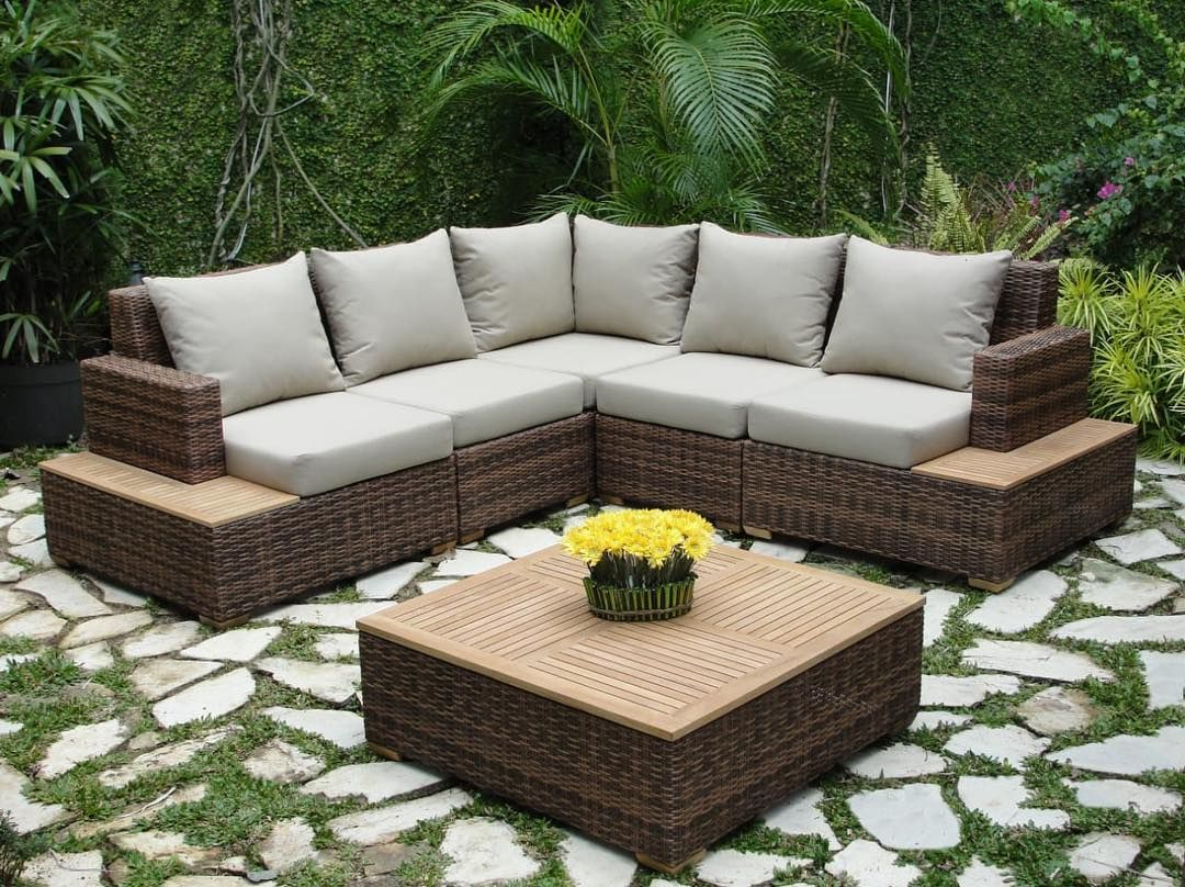 puriarthakemang Puriartha\'s Outdoor Modular Sofa is our best option ...