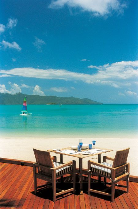Hayman Island Resort, Great Barrier Reef, Australia...cant wait till my boys are old enough and certified, so we can all scuba dive the reef together. :0)