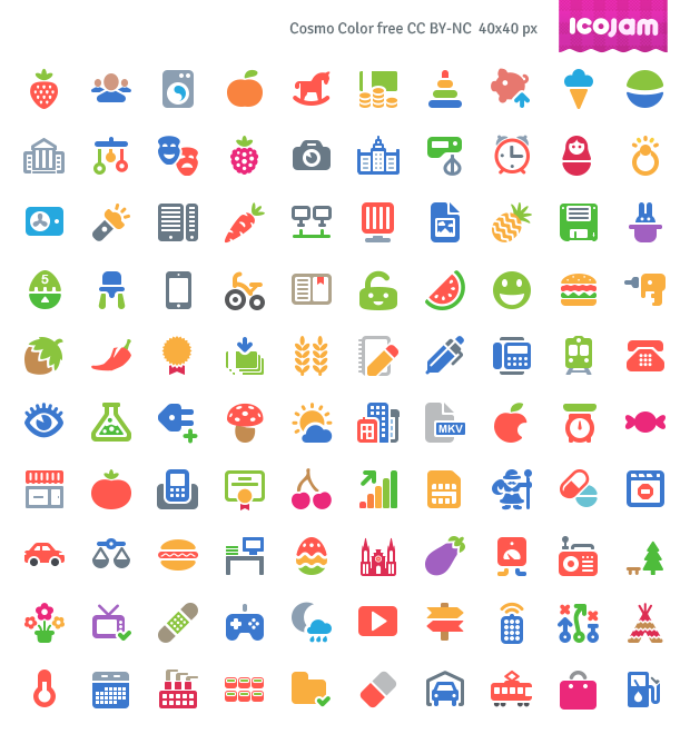 09d0050b 100 Free Cosmo Color Vector Icons Icons AI Flat Free Graphic Design Icon  PSD Resource Vector