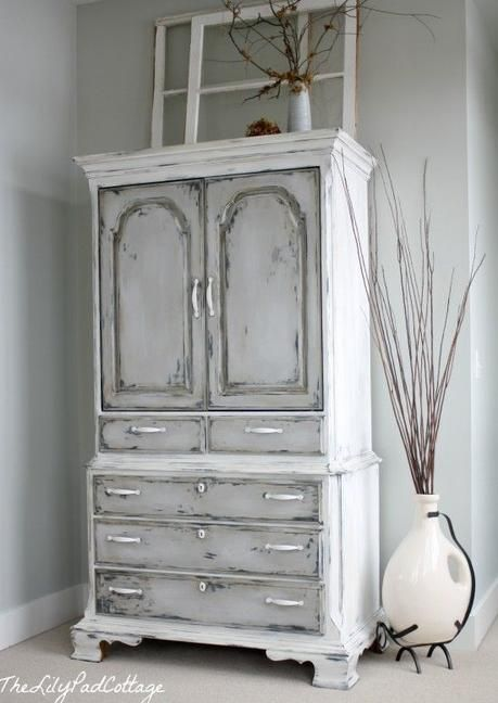 Muebles pintados con pintura a la tiza | Chalk paint, Shabby and ...
