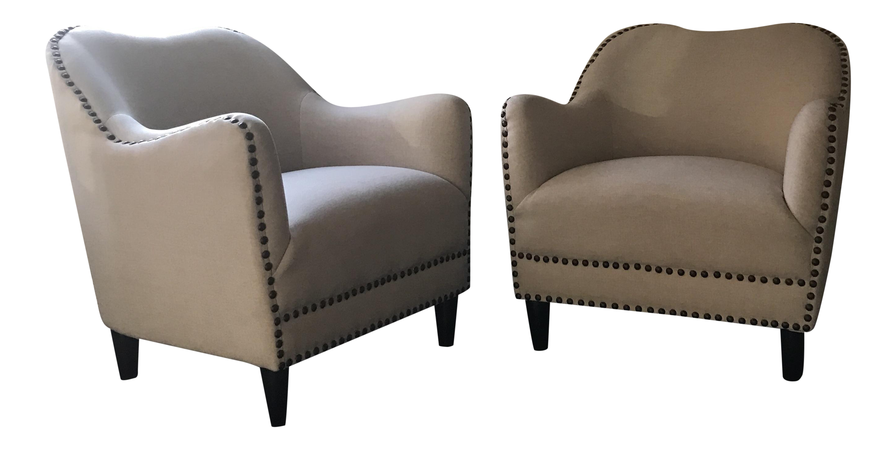 Two arm chairs in excellent condition, original price is 650 each piece.  made by Joss and Main