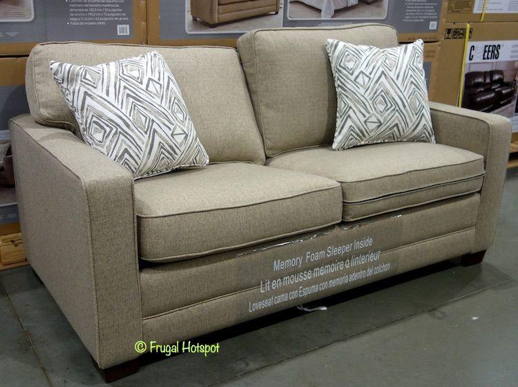 Costco Synergy Home Fabric Sleeper Sofa 599.99 in 2020
