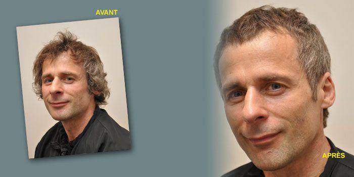 Relooking coiffure Homme, à Paris Relooking coiffure