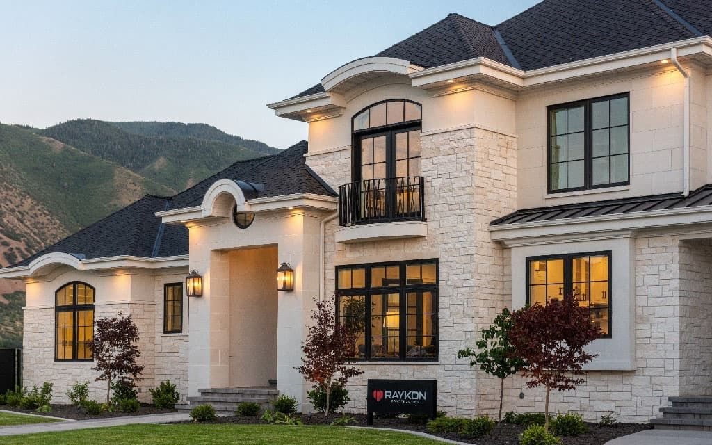 Tour This Absolutely Spectacular Modernized European Style Home In Utah In 2021 Home Styles Exterior Modern Exterior House Designs European Style Homes