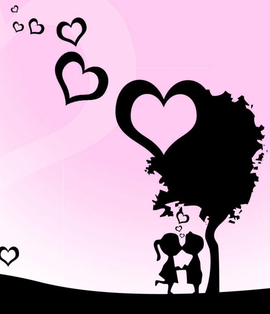 Dibujos De Enamorados En Color Buscar Con Google Febrero14