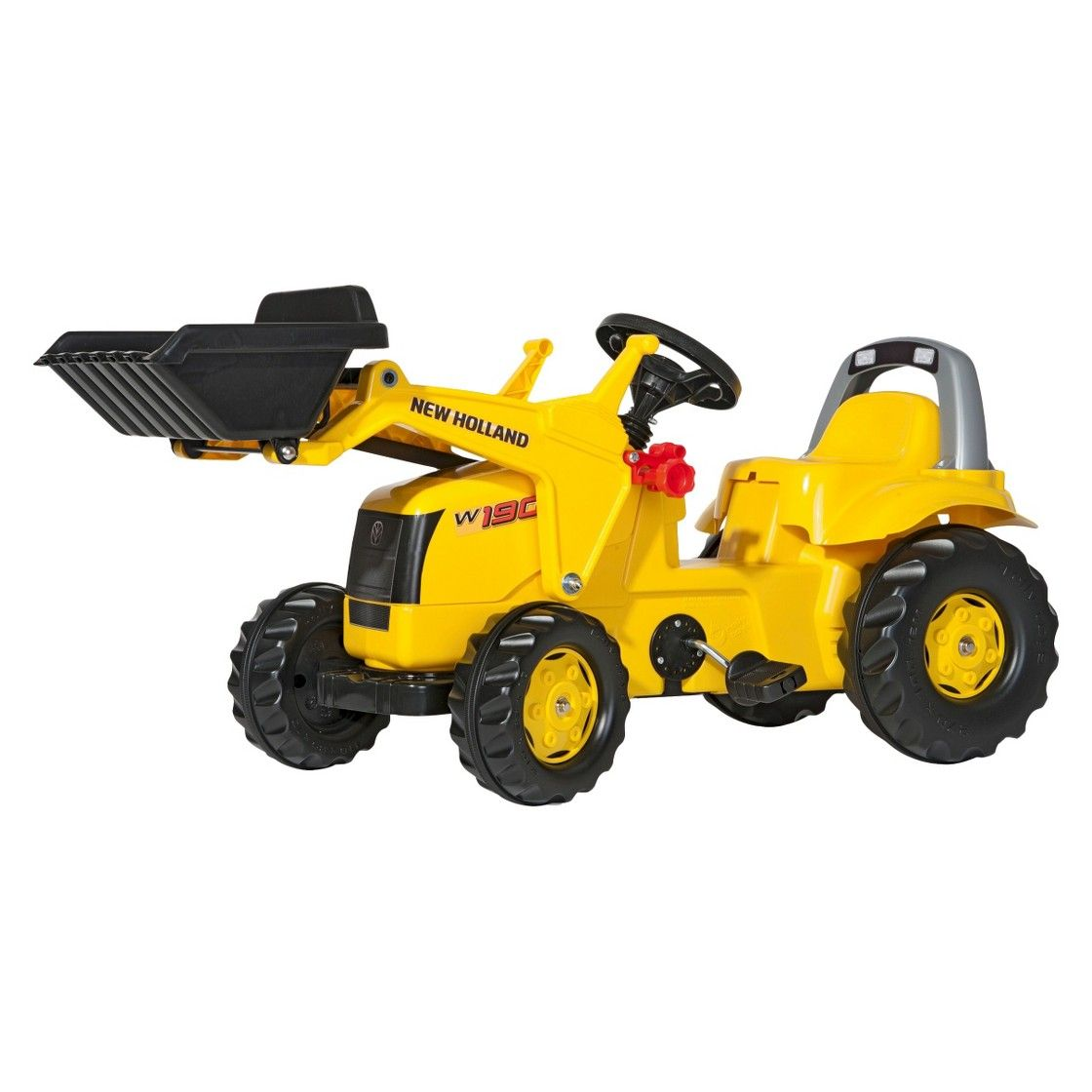 kettler new holland kid tractor w front loader ride on toy