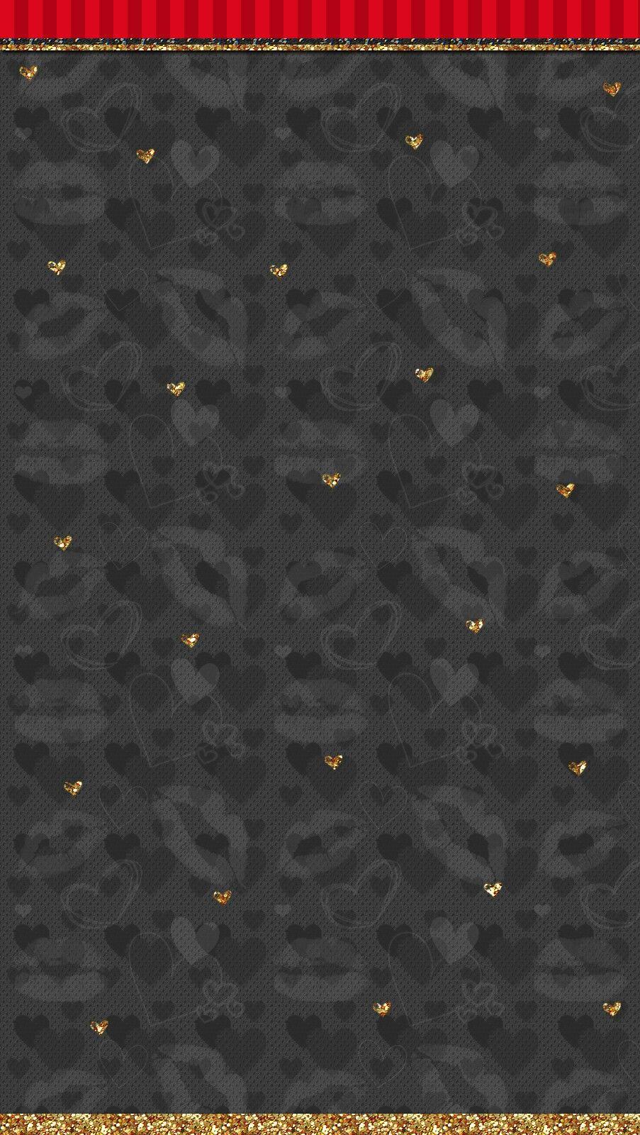 Black Wallpaper Iphone Glitter Valentines Day