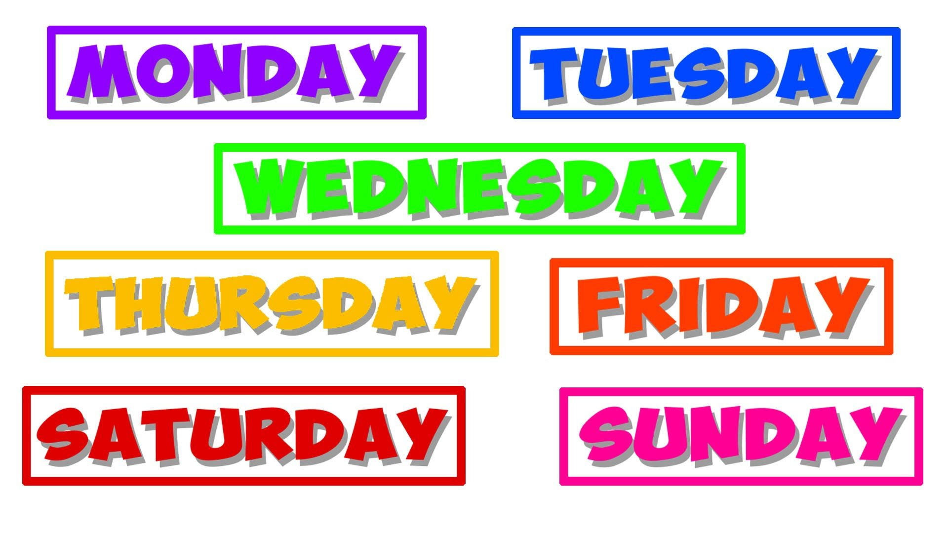 The Definitive Ranking of the Days of the Week