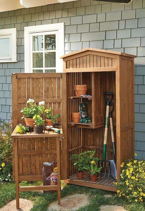 Teak Garden Storage Garden Tool Storage Garden Storage