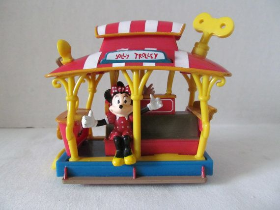 DISNEY MICKEY MOUSE Jolly Trolley by CellarDeals on Etsy