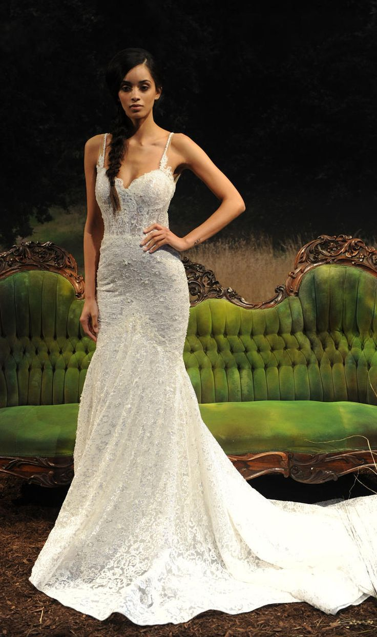 Nature wedding dress  NatureInspired Dresses From Gala by Galia Lahavus SpringSummer