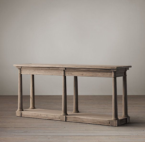 Bertrand Console Table Antique French Furniture Dining