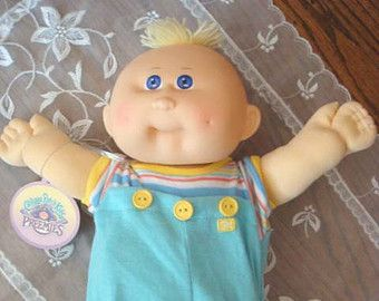 Cabbage Patch Doll On Etsy A Global Handmade And Vintage Marketplace Cabbage Patch Dolls Vintage Cabbage Patch Dolls Cabbage Patch Babies