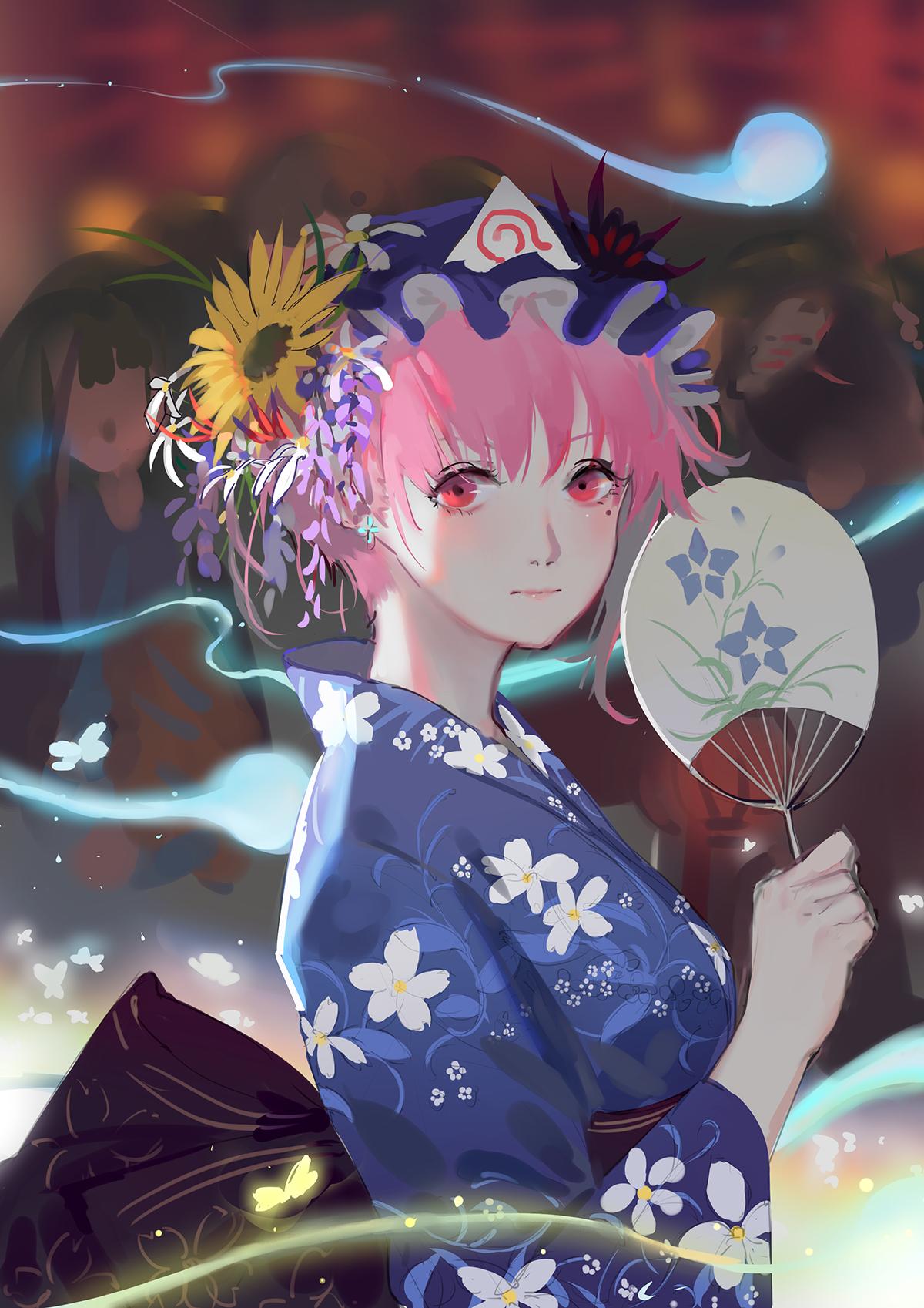 東方project 夏 Perfreezeのイラスト Anime Anime Wallpaper Art