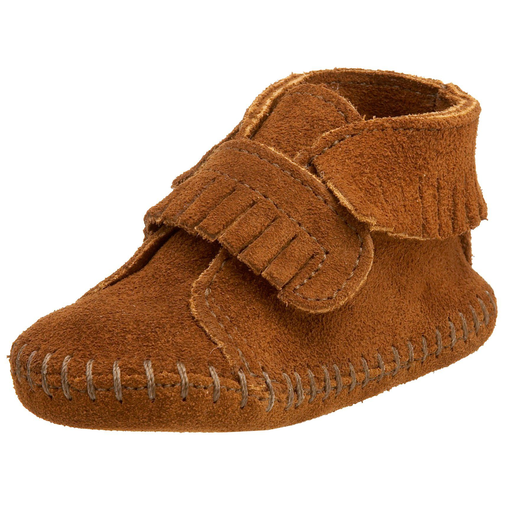 Amazon Minnetonka Front Strap Bootie Infant Toddler Shoes
