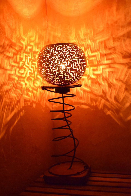Lampe 'Fracatalius', lampe d'ambiance chaleureuse en