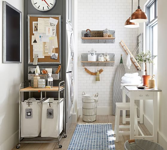 Galvanized Laundry Collection Home Decor Laundry Room