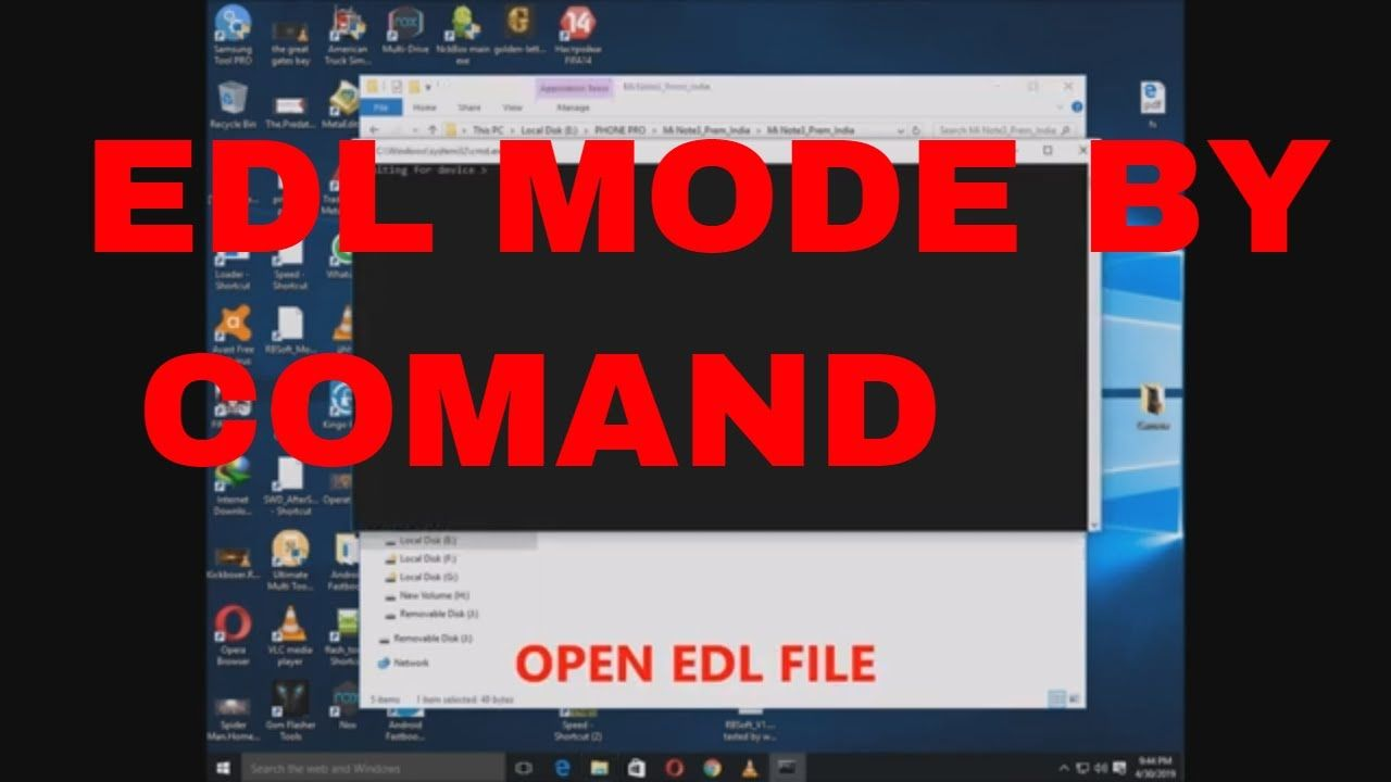 How to put Redmi 4A into EDL/Download mode Redmi Note 3