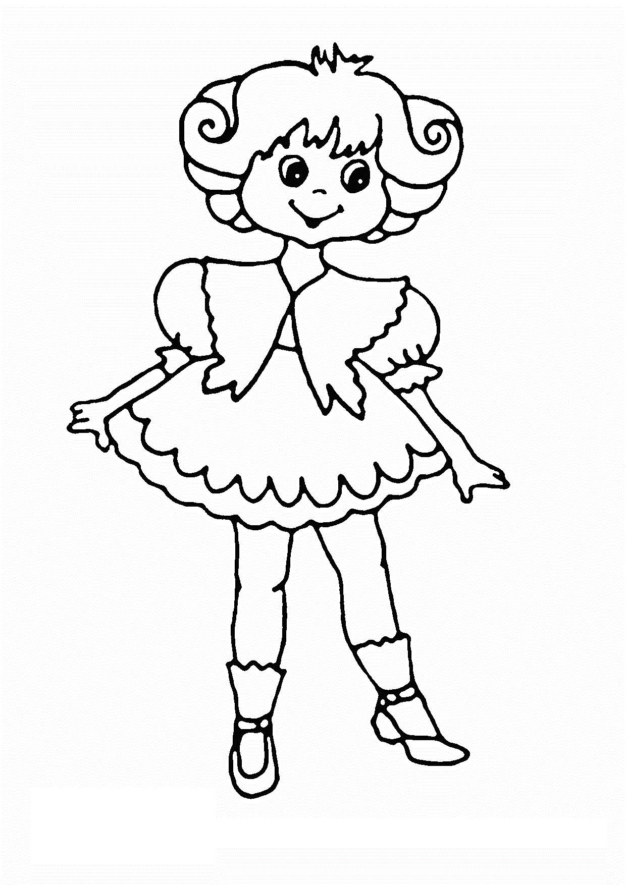 16 Printable Colouring Pages For 4 Year Olds
