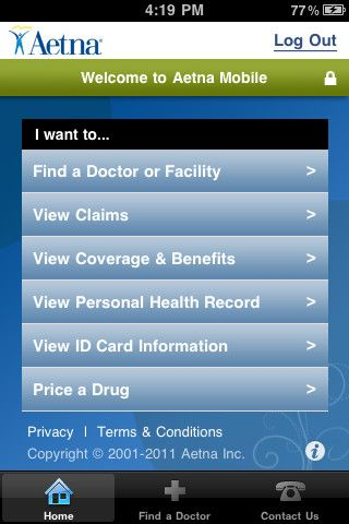 Aetna Mobile Health Technology Aetna Dental Insurance