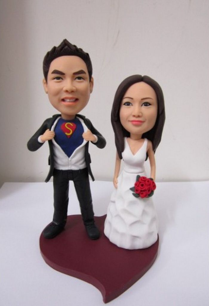 Awesome Personalized Wedding Cake Toppers For Couples