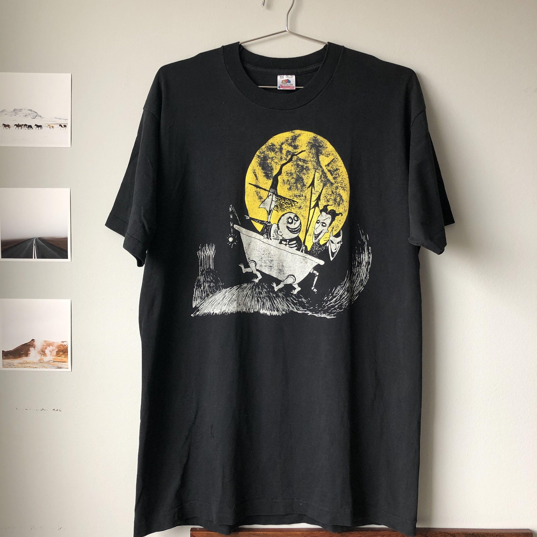 133a81b2ab400 Vintage Disney Shirt   Tim Burton   Nightmare Before Christmas ...