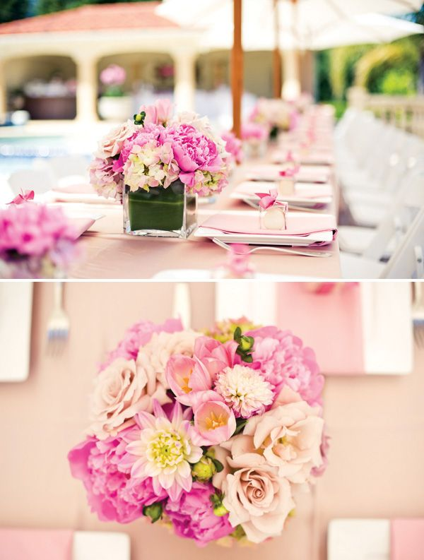 21309bb8f5e9 Blush Pink is the perfect color for a spring summer  bridalshower!