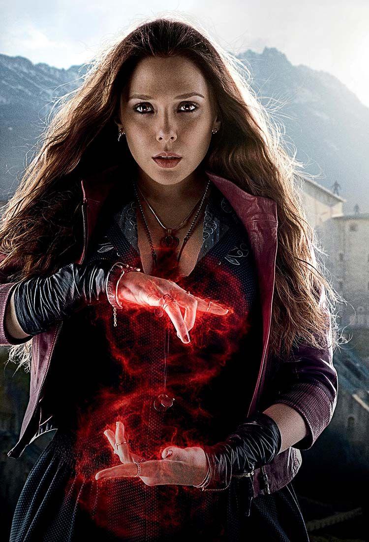 Wanda Maximoff Aka Scarlet Witch Elizabeth Olsen Scarlet Witch Avengers Scarlet Witch Marvel