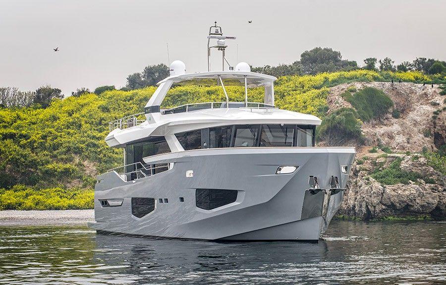 First Numarine 26XP yacht delivered Explorer yacht