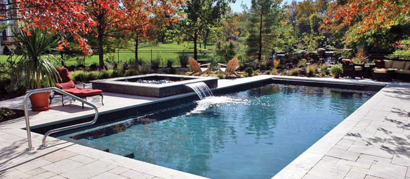99 Swimming Pool Designs And Types 2019 Pictures Geometric Pool Backyard Pool Pool Landscape Design