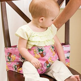 how to make a tie chair travel high chair