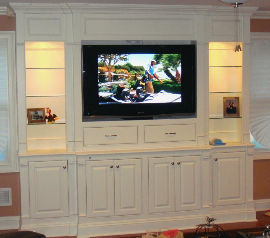 Media Cabinets/Built-in Shelving