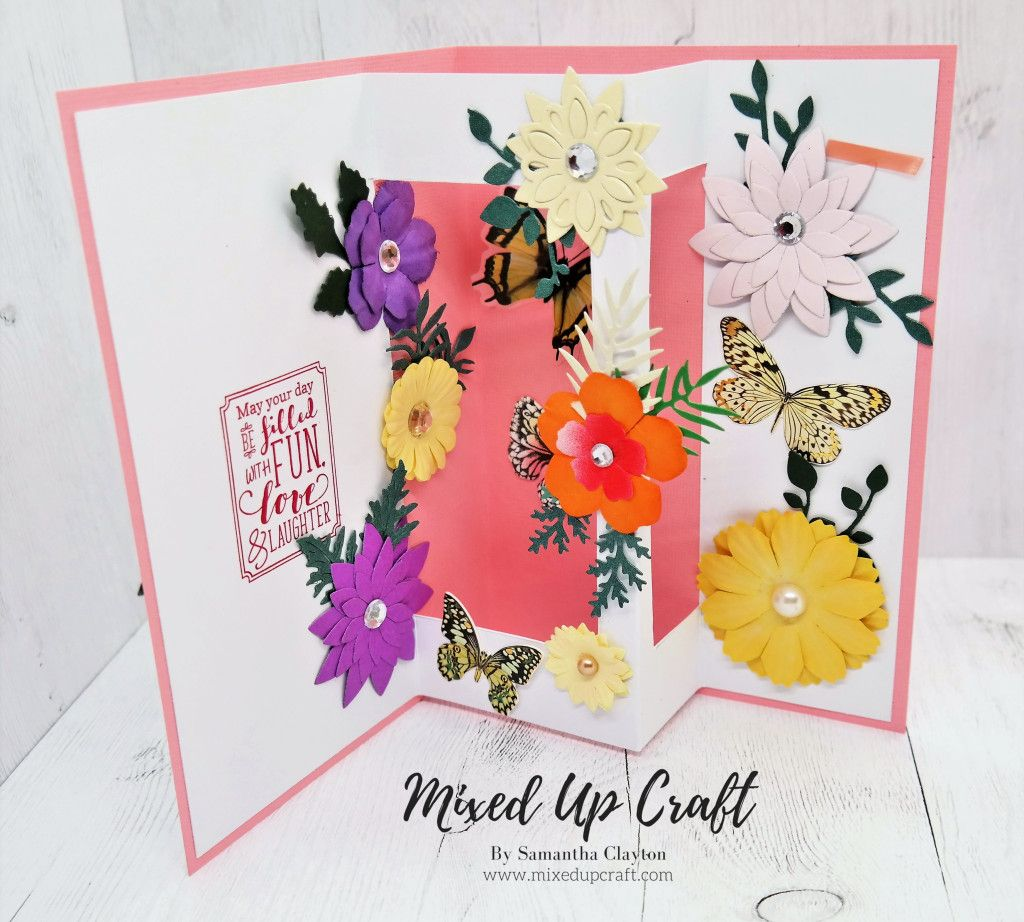 Fancy Fold Cards, Pop Up Cards, Fun