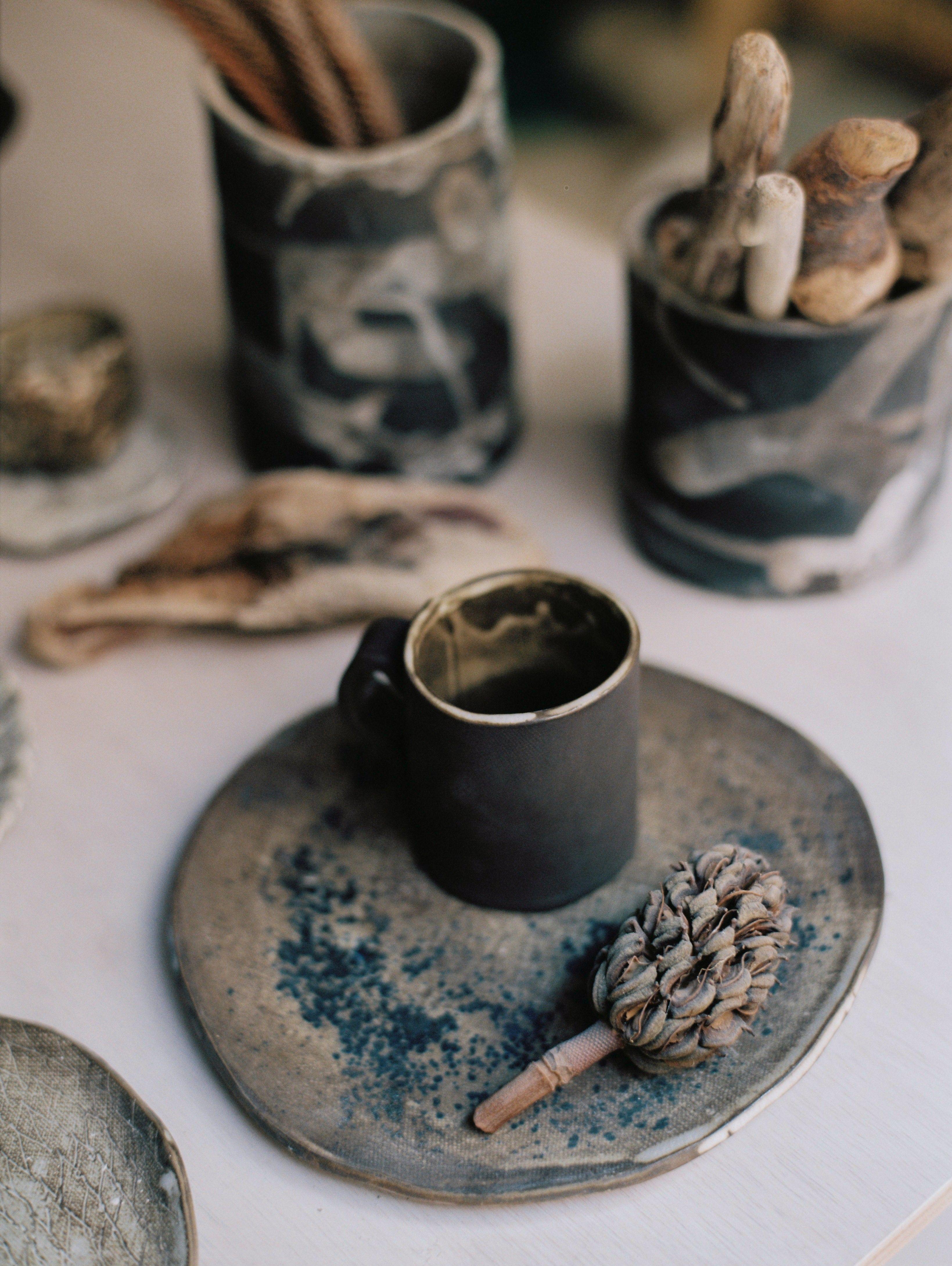 Rustic, handmade pieces by Julia Lu . .  #rusticstyle #wabisabi #handbuiltceramics #handmadepottery #breakfast #slowfood #slowliving #potterylove #handcrafted #rustichome #buysmall #clay #claystagram #ceramicbowl #rustictable #functionalart #hygge #thoughtfuldesign #minimalism #céramique #keramik #inapiredbynature #ceramica #inspiredbynature #potterylove #onmytable #home #studiowork #designforfood #julia_lu_studio