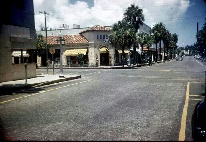 Old Photo Of Downtown Ft Pierce Florida Florida Old Photos Street View