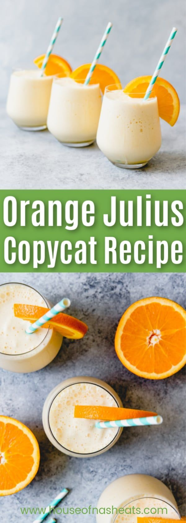 Orange Julius #cocktaildrinks