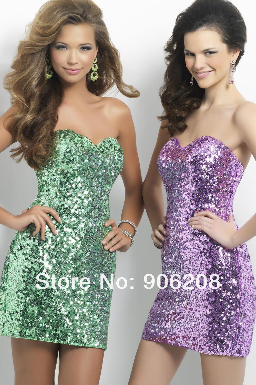 Custom made open back chiffon lime green short homecoming dresses