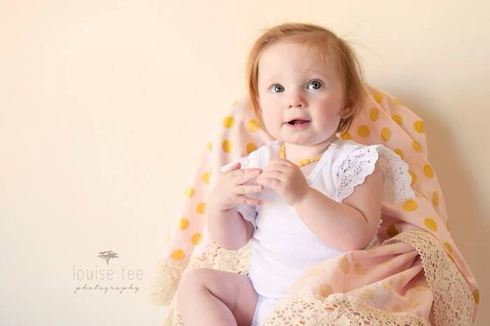 Otto Babyzimmer ~ Amelie lace baby wrap in blush deluxe by tilly & otto baby tillys