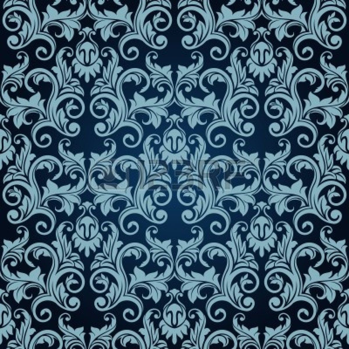 Blue Seamless Wallpaper Victorian Wallpaper Pattern Wallpaper Victorian Pattern