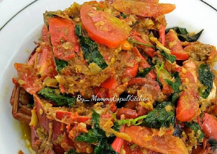 Resep Kepiting Rica Rica Super Pedasss Oleh Dapur Mommygopal Fitry Februari Resep Resep Kepiting Resep Makanan Resep Masakan