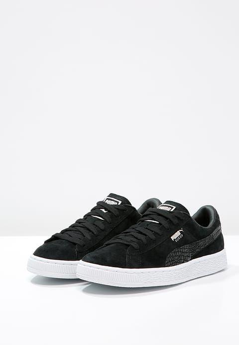 6978798783fe Puma SUEDE CLASSIC - Sneakers - black white - Zalando.dk