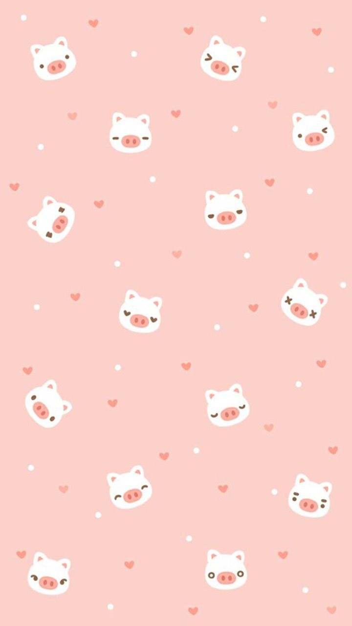 Pin By Maya On Wallpaper Vol 38 Pig Wallpaper Cute Pastel Wallpaper Wallpaper Iphone Cute