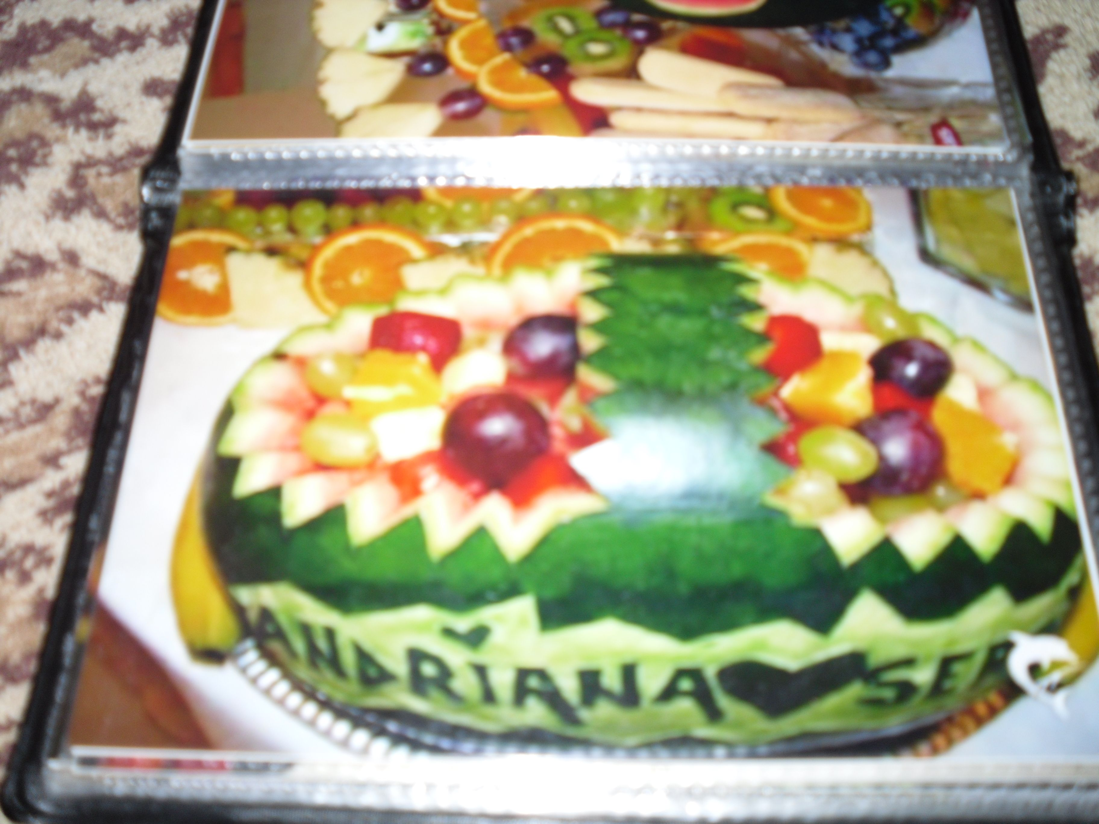 Watermelon boat | food | Pinterest