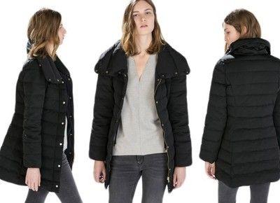 Zara Woman Czarna Puchowa Kurtka M 38 6724735290 Oficjalne Archiwum Allegro Jackets Winter Jackets Fashion